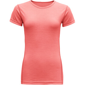 Devold Breeze T-Shirt Dames, coral